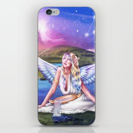 Aquarius OC - 12 Zodiac Ladies iPhone Skin