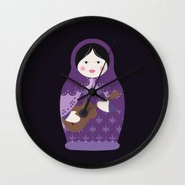 Matryoshka Solo Artist Wall Clock