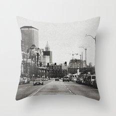 City Grain Throw Pillow