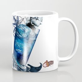 Tempestade num Copo de água - Storm in a glass of water Coffee Mug