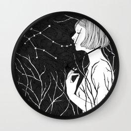 Under Stars (Aurora Aksnes) Wall Clock