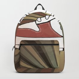 Sneakers shoes Backpack