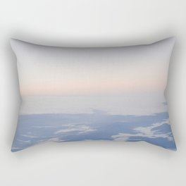 Plane Sunrise Rectangular Pillow