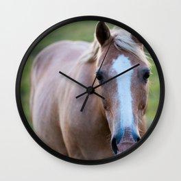 Silver I Wall Clock