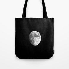 Waxing Gibbous Moon Tote Bag