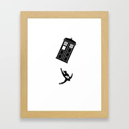 Doctor Who - Mad Men Framed Art Print