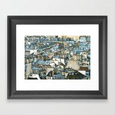 Toits de Paris Framed Art Print