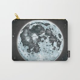 Full Moon Outer space Art Carry-All Pouch