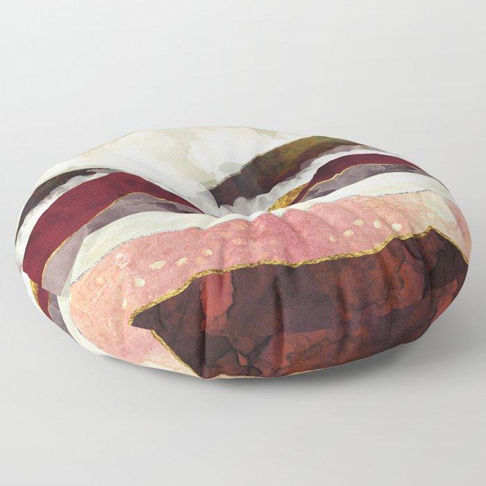 Melon Mountains Floor Pillow