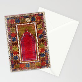 Karadag Antique Turkish Niche Carpet Stationery Cards