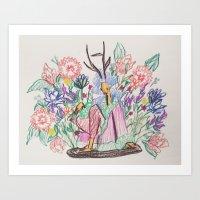 Surroundings Art Print