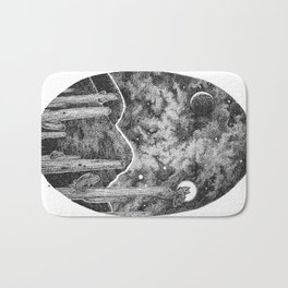 Desert Night Owl Bath Mat