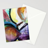 Off the Cross Icon Stationery Cards