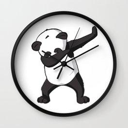 -DAB- Panda DAB Wall Clock