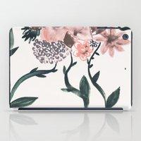 georgiana paraschiv iPad Cases featuring Summer Flowers by Georgiana Paraschiv