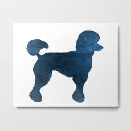 Poodle Metal Print