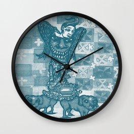 Dog Days Of  The Apocalypse Wall Clock