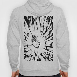 Large Chrysanthemum - BWScale Hoody