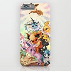 Eeveelution pileup iPhone 6 Slim Case