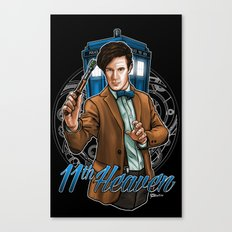 11th Heaven Doctor Who Canvas Print