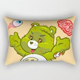 Zombie Bear Rectangular Pillow