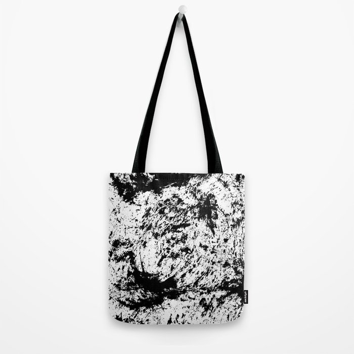 Inky Texture 14 Tote Bag