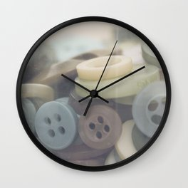 In the Button Jar Wall Clock