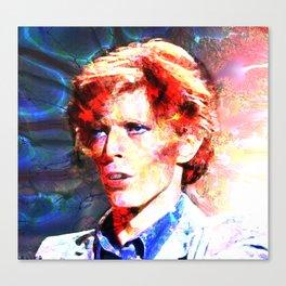 David (A Fractal Portrait) Canvas Print