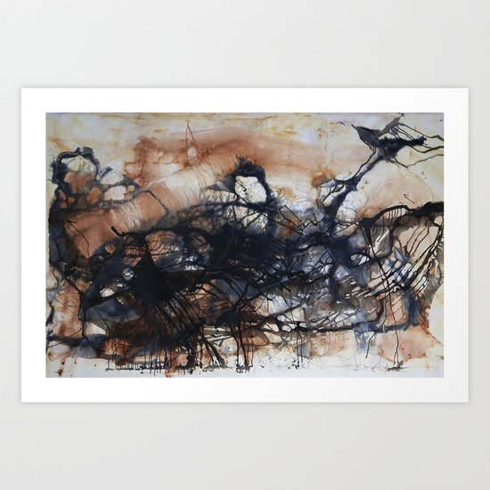 Looking for Water Art Print