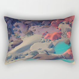 The Cradle Valley Rectangular Pillow