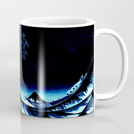 the Great Wave Blue Coffee Mug