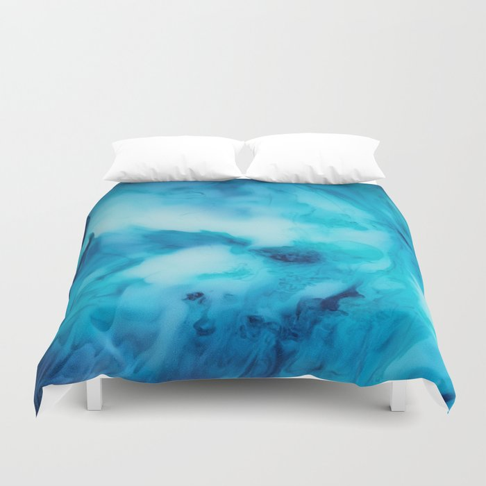 Blue Marble Duvet Cover By Jennadavis Society6