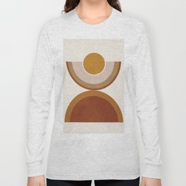 Modern Geometry Long Sleeve T-shirt