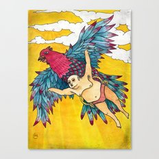 Lazy Tarzan - Flying Canvas Print