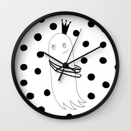 Princess Ghost Wall Clock