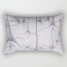 Neuron forest Rectangular Pillow