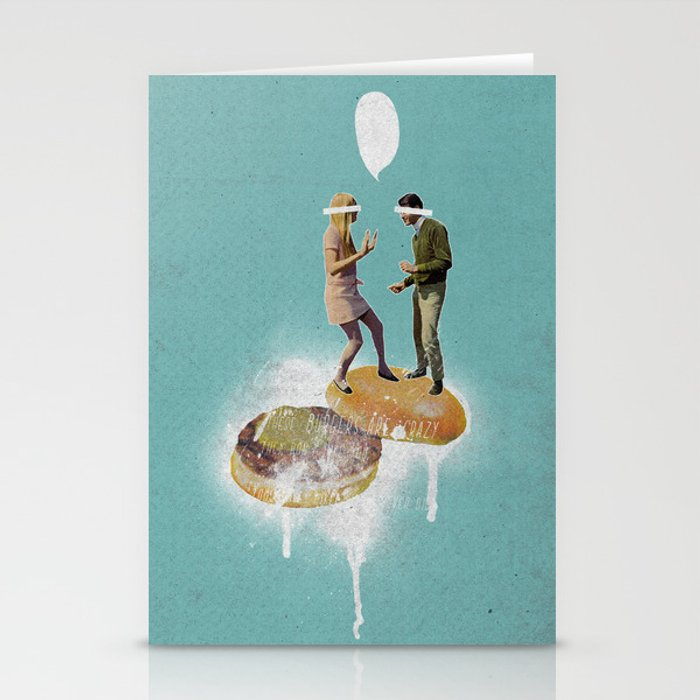 Danse Sale | Collage Stationery Cards