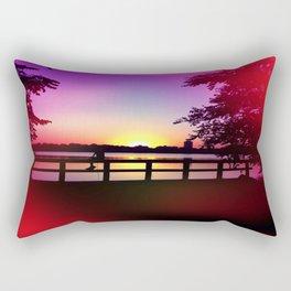 Warm Summer Nights at Dusk Rectangular Pillow