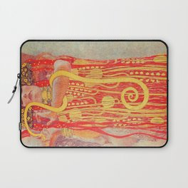 Gustav Klimt - Greek Goddess of Medicine Hygeia Laptop Sleeve