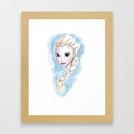 Frozen - Elsa Framed Art Print