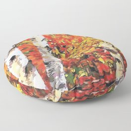Fall Colors Floor Pillow