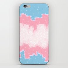 Trans Pride Flag Galaxy iPhone & iPod Skin