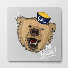 Go Bears! Metal Print