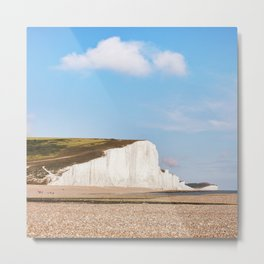 Seven Sisters Country Park, East Sussex, UK Metal Print