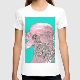 Hipster Nepune - emerald T-shirt