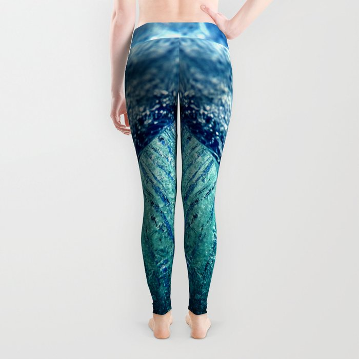 ocean vortex Leggings