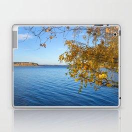 Autumn Lake Landscape #decor #society6 #buyart Laptop & iPad Skin