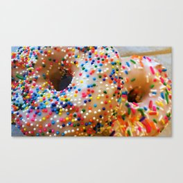 Sprinkles and Donuts Canvas Print