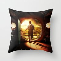 the lord of the rings Throw Pillows featuring THE LORD OF THE RINGS by September 9