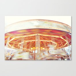 Carousel love Canvas Print